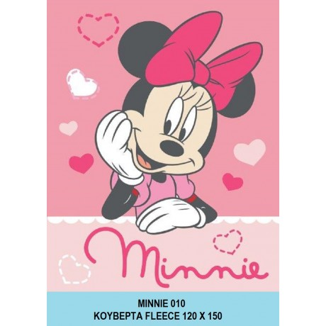 Κουβερτάκι Fleece Minnie 06-Disney, DIM Collection